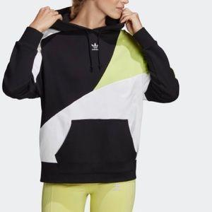 Adidas Originals Colorblock 90s Hoodie Womens XL